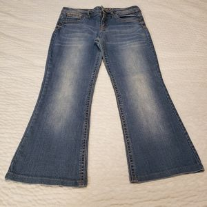 Justice jeans 16.5 medium wash simply low like new